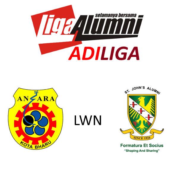 AdiLiga Alumni Ansara KB lwn SJAA