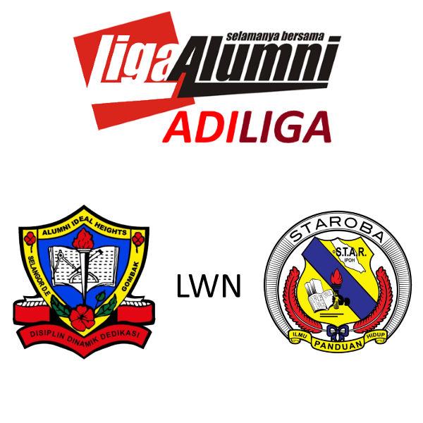 AdiLiga Alumni Ideal Heights lwn STAROBA