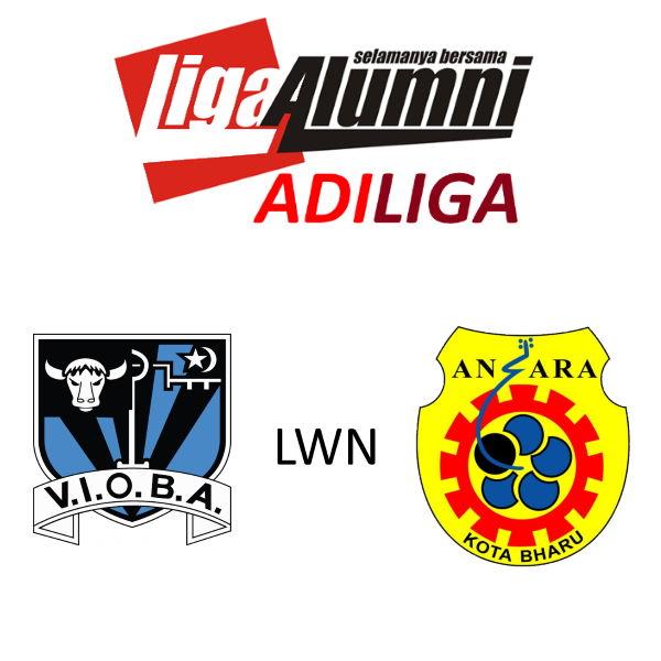 AdiLiga Alumni VIOBA Lwn Ansara KB