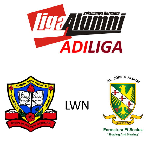AdiLiga Alumni Ideal Heights Lwn SJAA